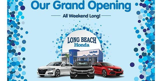 LONG BEACH HONDA : Grand Opening Ribbon Cutting Ceremony
