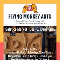 Solstice Market at Flying Monkey Arts