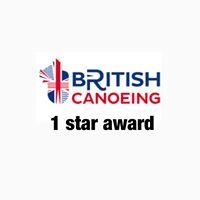 British Canoeing 1 Star Award
