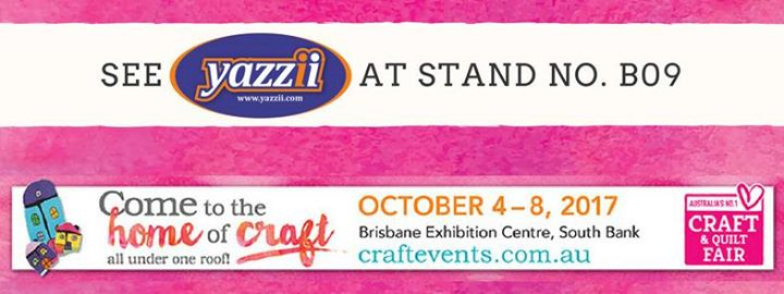 Brisbane Craft And Quilt Fair - Yazzii at Stand #B09 | Brisbane : brisbane craft and quilt fair - Adamdwight.com