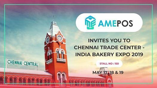 INDIA Bakery EXPO 2019 at AmePos Pvt Ltd, Chennai