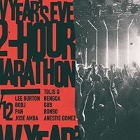 New Years Eve A 12-Hour Marathon Party at six dogs