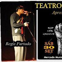 Teatro de Bolso Apresenta Regis Furtado  Nat Borges