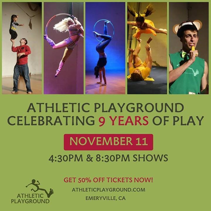 Athletic Playground 9 Year Anniversary Shows