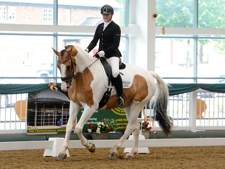 Unaffiliated Dressage At Aintree Equestrian Centre Liverpool