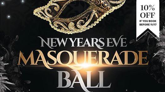 New Years Eve Masquerade at The Sheraton