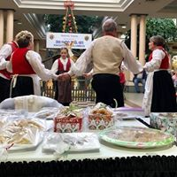 Bake Sale and Folk Dancers