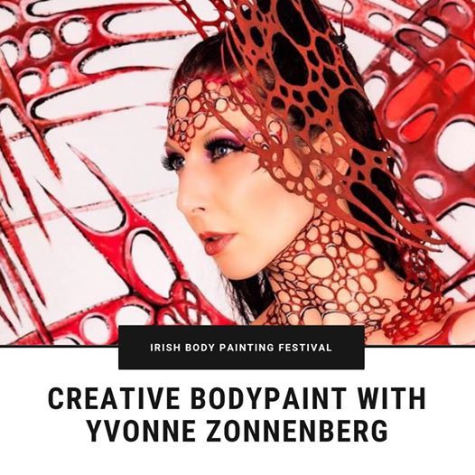 Creative Body Paint with Yvonne Zonnenberg