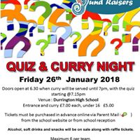 DHS Quiz and Curry Night