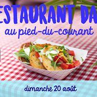 Restaurant Day au Pied-du-Courant