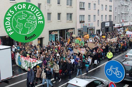 Europaweiter Klimastreik voteclimate