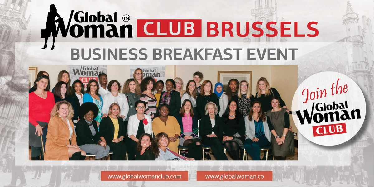 GLOBAL WOMAN CLUB BRUSSELS BUSINESS NETWORKING BREAKFAST - SEPTEMBER