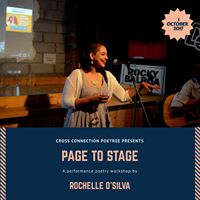 Page to Stage - Performance Poetry Workshop by Rochelle Dsilva