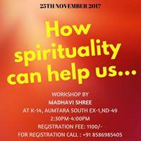 How spirituality can help us