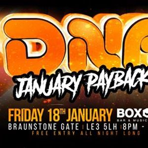 DNA Hardcore 40- Free Payback PartyFri 18th January Leicester