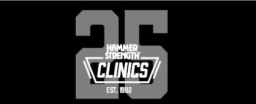 The 25th Anniversary Hammer Strength Clinic - Cincinnati Ohio