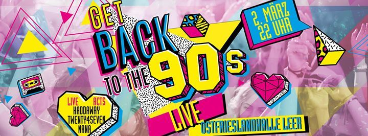 Leer Tanzt Get Back To The 90s LIVE - Sa0203