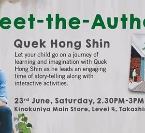Meet Quek Hong Shin author of The Incredible Basket