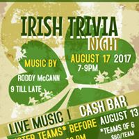 Killaloe Irish Trivia Night