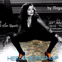 Heels Workshop by Mrigakshi Jaiswal