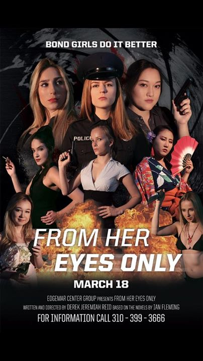 From Her Eyes Only- The Bond Girls show