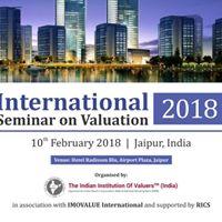 International Seminar on Valuation 2018