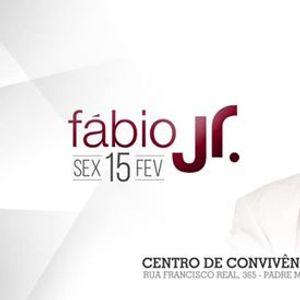 Fbio Jr no Centro de Convivncia de Padre Miguel