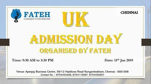 UK Admission Day (Chennai)