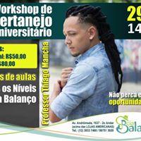 Workshop Sertanejo Universitrio - Professor Thiago Mancha