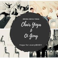 Chair yoga infused with Qi Gong