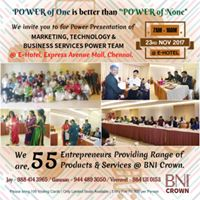 Special Entrepreneurs Meet