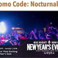 Big Night NYE 2018 New Orleans Discount Promo Code Gala vip