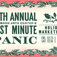 10th Annual Last Minute Panic Holiday Marketplace