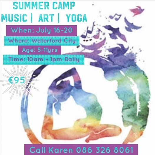 Kids Yoga Art & Music Summer Camp