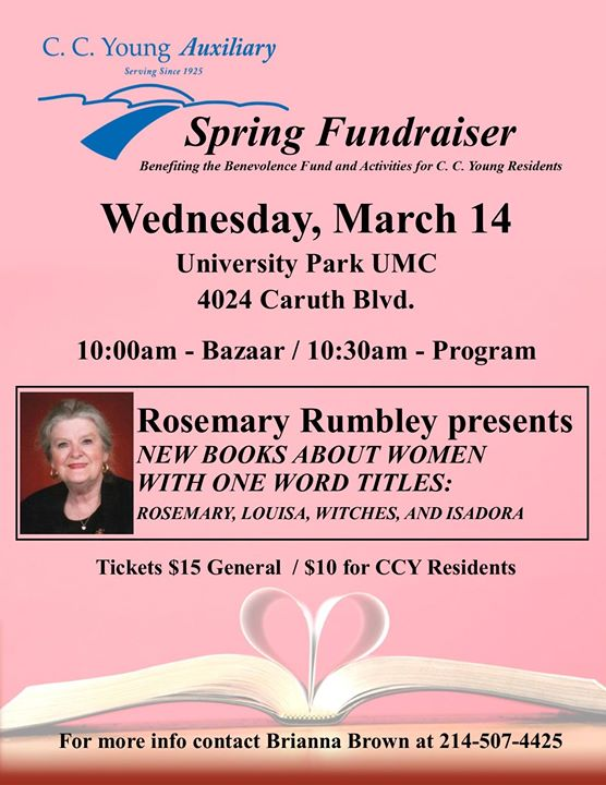 Rosemary Rumbley presents New Books About Women