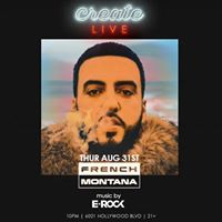 French Montana at Create