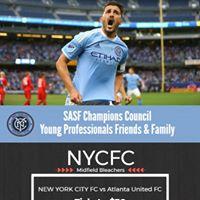 SASF Champions Council NYC FC vs Atlanta United FC Fundraiser