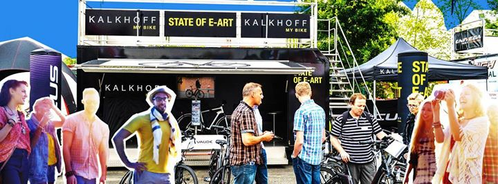 Kalkhoff Testival Tour Absberg At Charlys Radlstadel Absberg
