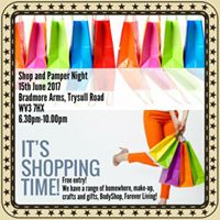 Shop and Pamper Night
