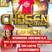 Chosen Clothing Launch Featuring Lindi Marc