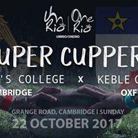 UmRioOneRio SuperCuppers St Johns vs Keble