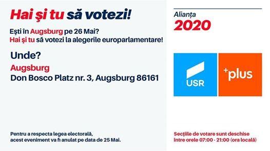 Romnii din Augsburg voteaz la alegerile europarlamentare