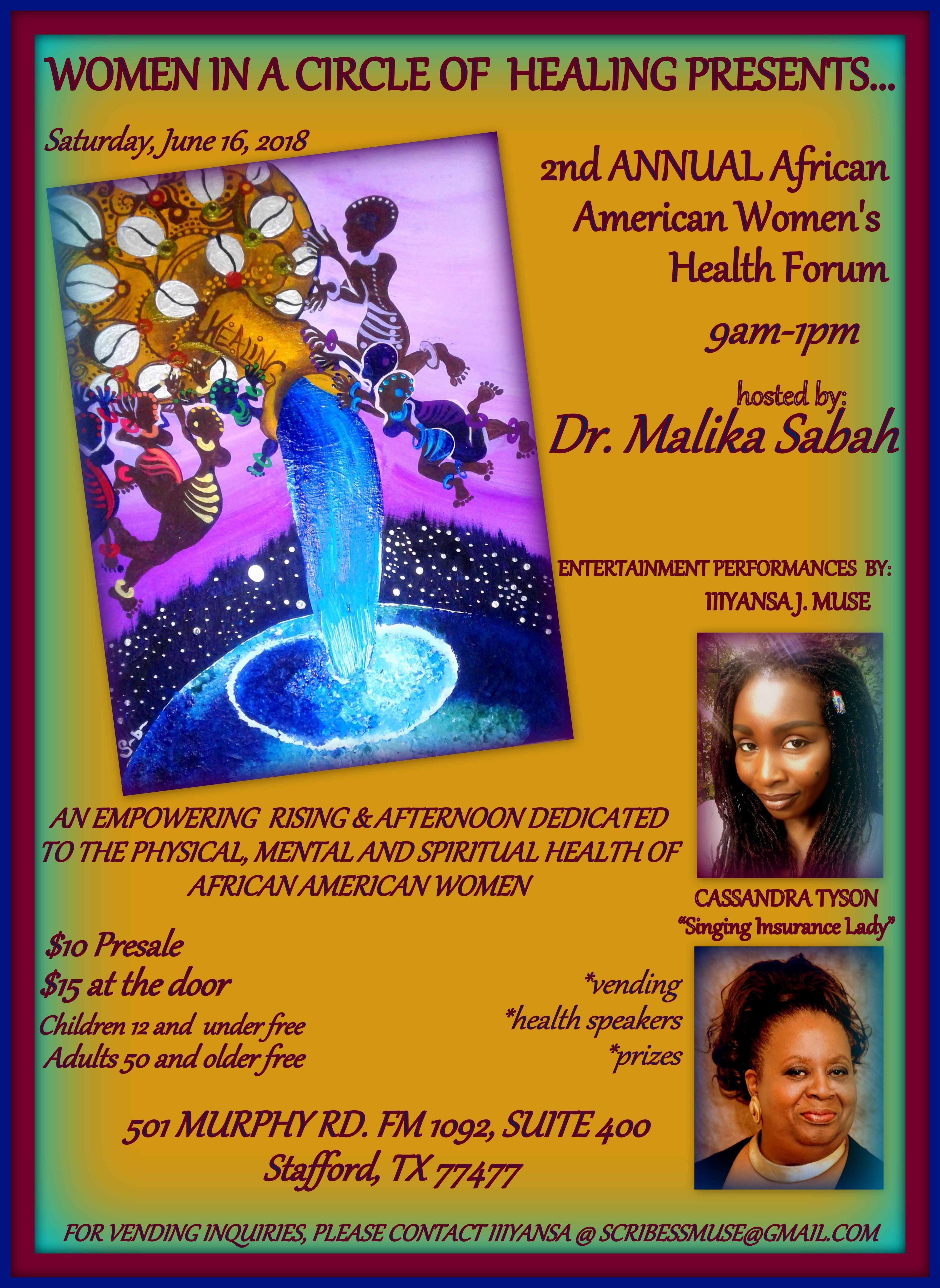 African American Womens Health Forum