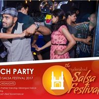 Hyderabad Salsa Festival 2017 Launch Party at Heart Cup Cafe