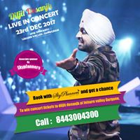 Get a chance to win ticket of Live Concert of Diljit Dosanjh
