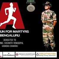 The Run For Martyrs - Bengaluru