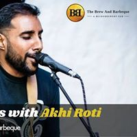 GuitarClub presents Angrezi Saturdays with Akhi Roti