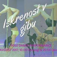 Iskrenost V GIBU - Pole dance performance