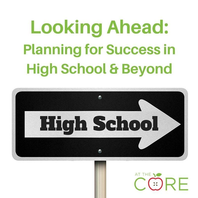 ANDERSON - Looking Ahead Planning for Success in High School & Beyond