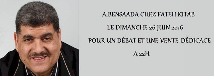 Dbat et Vente-Ddicace avec A.Bensaada